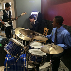 Jazz band trio from Walter Murray