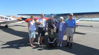 Shane with Fasts, Century Flight to La Ronge 2011